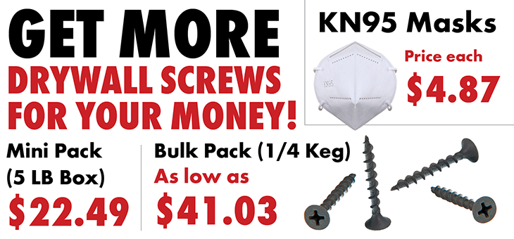 Get More Drywall Screws For Your Money! (opens PDF in new window)