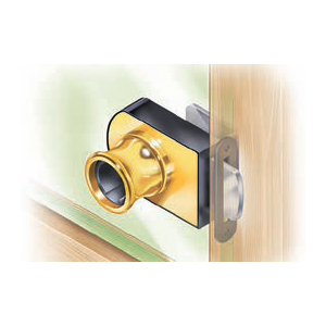 Product Image: Glass Door Locks, No Bore Style