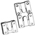 Product: Interlocking Panel Assembly Hardware - Flushmount Hangers