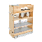 Product: Vanity Base Cabinet Organizer w/Outlet - 9-5/16
